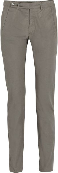 Rick Owens Highrise Skinny Cotton Pants - Lyst