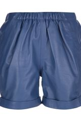 See By Chloé Silk Shorts - Lyst