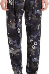 3.1 Phillip Lim Pleated Camo Print Pants - Lyst