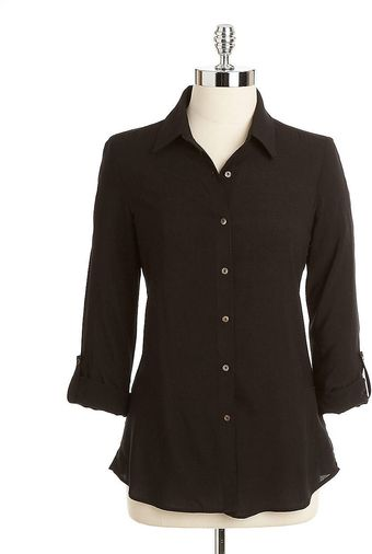 Bailey 44 Sumerian Buttondown Rolltab Blouse - Lyst