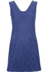 Cacharel Sleeveless Lace Dress - Lyst