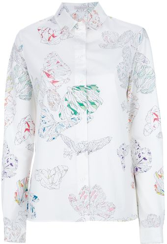 Cacharel Geometric Butterfly Shirt - Lyst