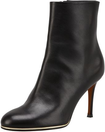 Givenchy Leather Golden Midsole Ankle Boot - Lyst