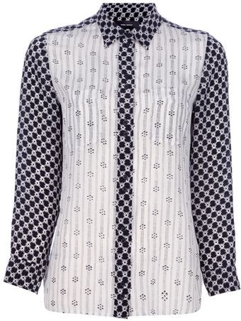 Isabel Marant Melina Colour Block Shirt - Lyst