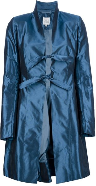 Pauw  Silk Coat - Lyst