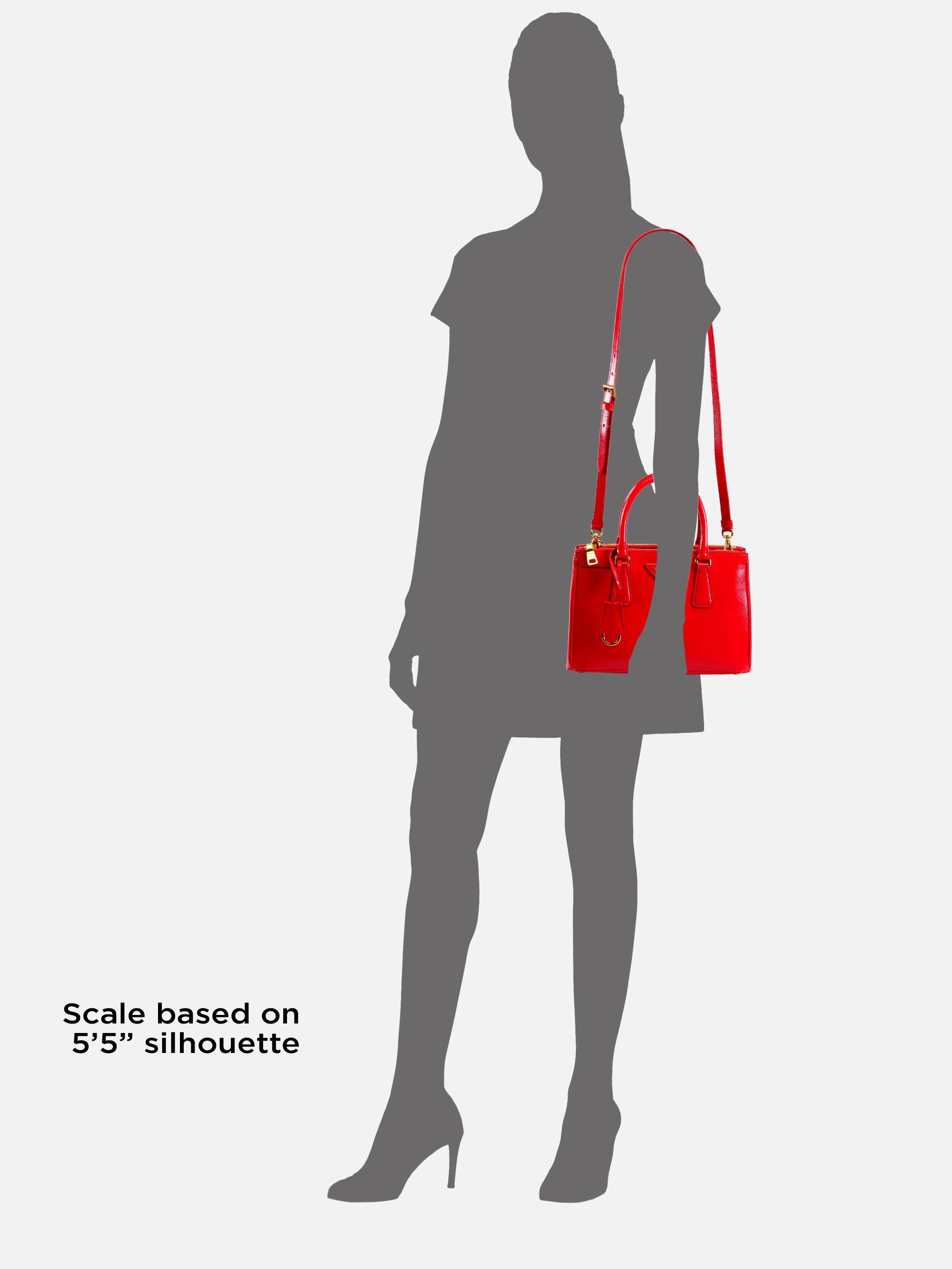 prada handbag replica - Prada Saffiano Vernice Tote in Black (nero-black) | Lyst