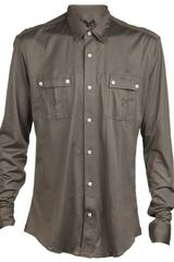 Balmain Button Down Shirt - Lyst