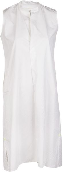 Dosa Sleeveless Cotton Shift Dress - Lyst