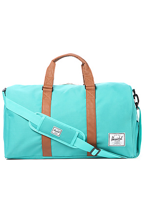 8e7b74c0d Lyst - Herschel Supply Co. The Novel Duffle Bag in Teal Tan in Blue ...