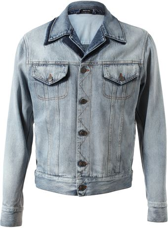 Maison Martin Margiela Stonewashed Denim Jacket - Lyst