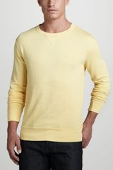 Polo Ralph Lauren Terry Crew Neck Sweatshirt - Lyst
