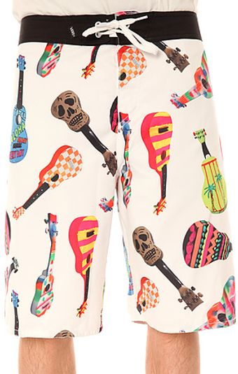 Vans The Ukulele Boardshorts in White Ukulele - Lyst