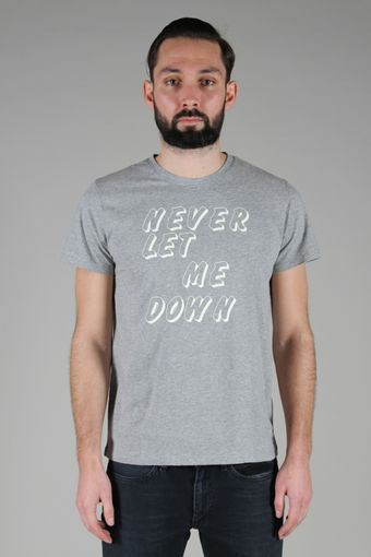 A.P.C. Never Let Me Down T-shirt - Lyst