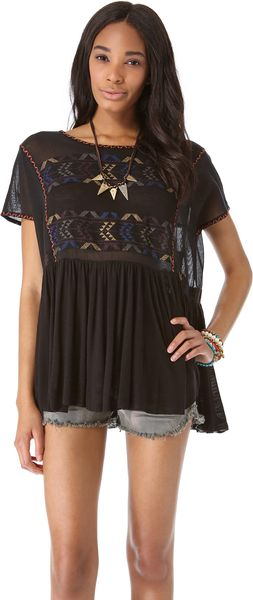 Free People Shenandoah Tunic - Lyst