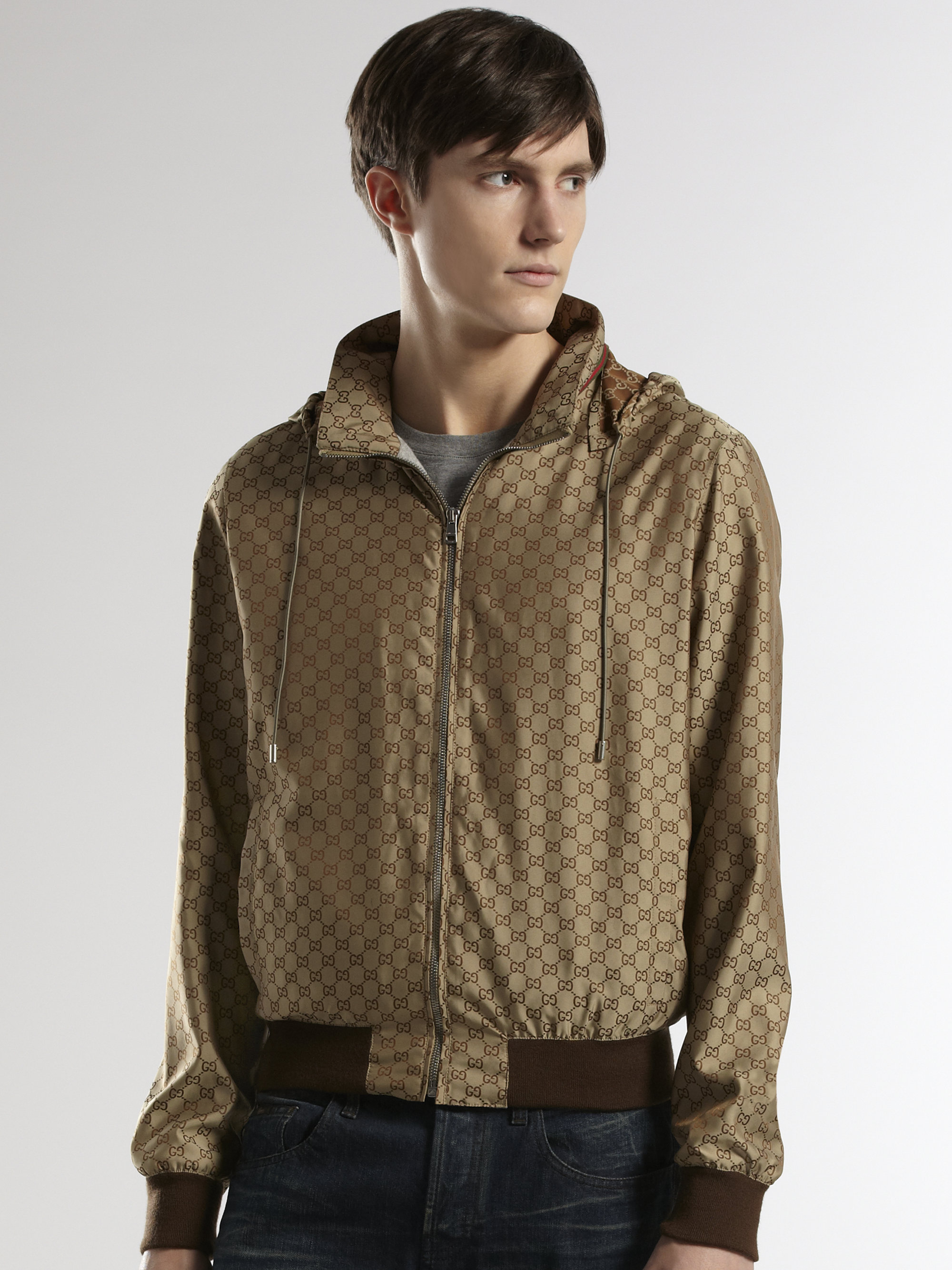d508a8a90584 Gucci Jacket Mens Brown - Cairoamani.com
