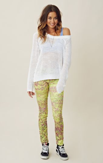 Joe's Jeans Skinny Printed Denim - Lyst