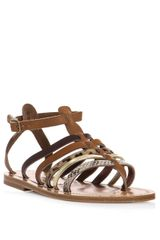 K. Jacques Multistrap Sandals - Lyst