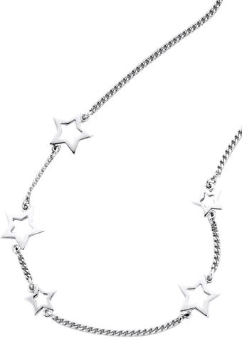 Karen Walker Scattered Star Necklace - Lyst