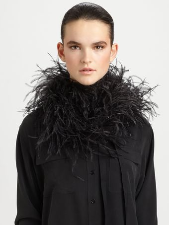 Maison Martin Margiela Feather Down Scarf - Lyst