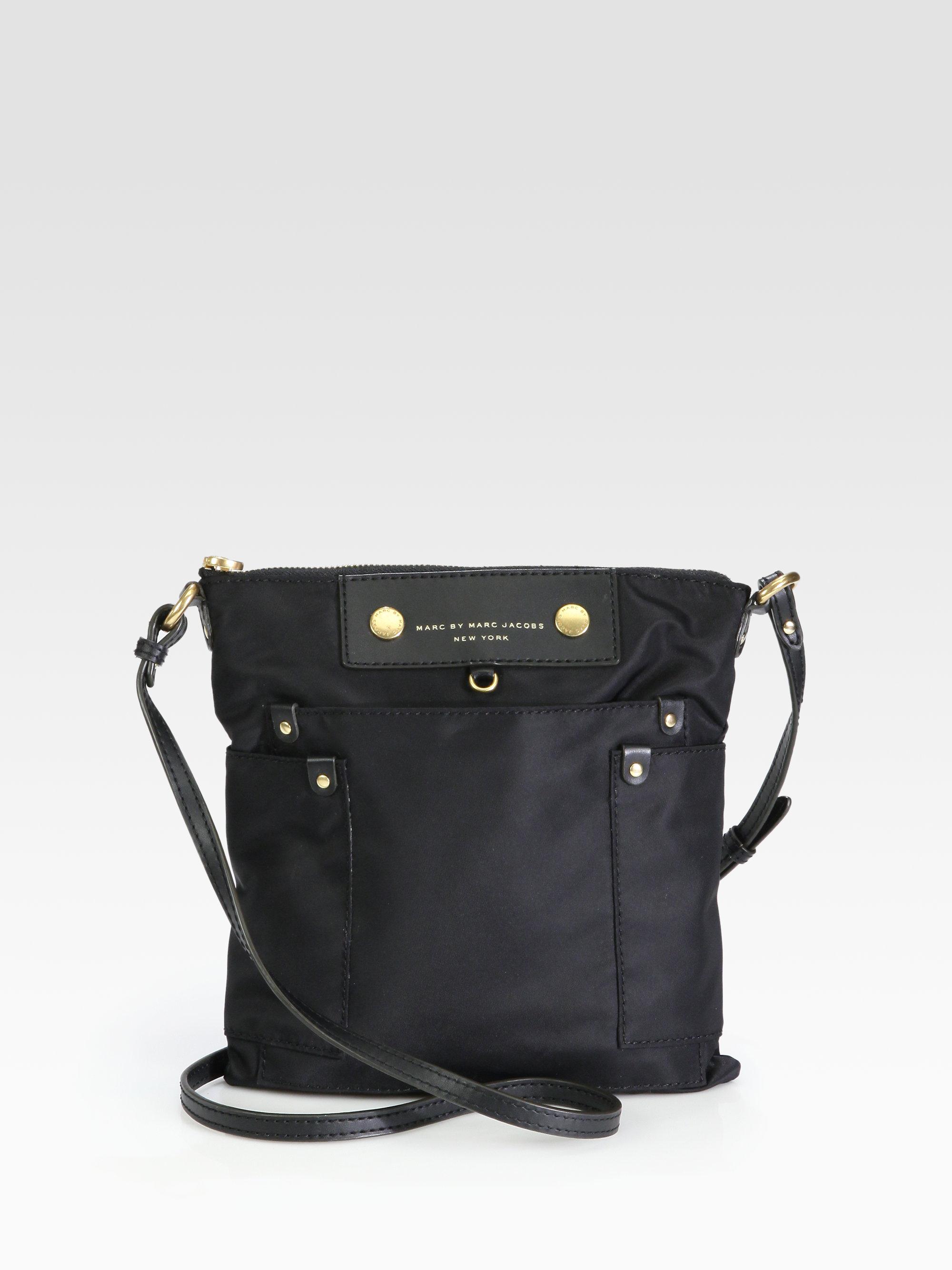 648487d14b4f Lyst - Marc By Marc Jacobs Preppy Nylon Sia Crossbody Bag in Black