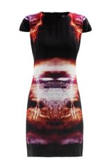 McQ by Alexander McQueen Lightningprint Dress - Lyst