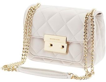 Michael by Michael Kors Sloan Small Quilted Shoulder Flap - Lyst