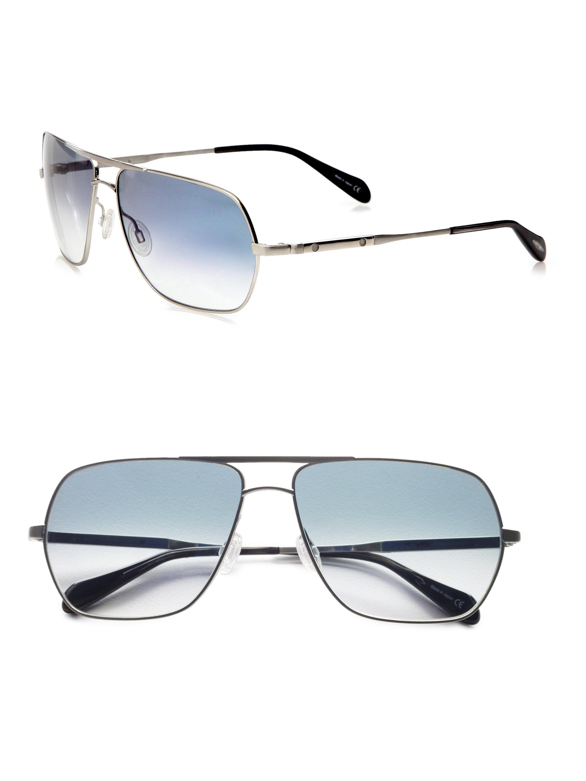 oliver peoples victory polarized aviator sunglasses. Black Bedroom Furniture Sets. Home Design Ideas
