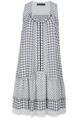Proenza Schouler Sleeveless Mixed Print Dress - Lyst