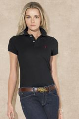 Blue Label Skinnyfit Polo Shirt - Lyst