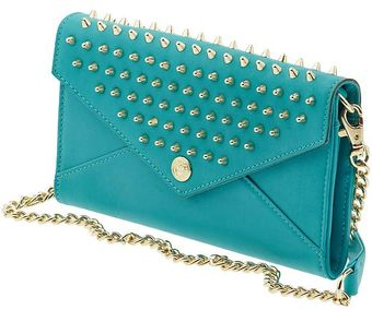 Rebecca Minkoff Studded Wallet On A Chain - Lyst