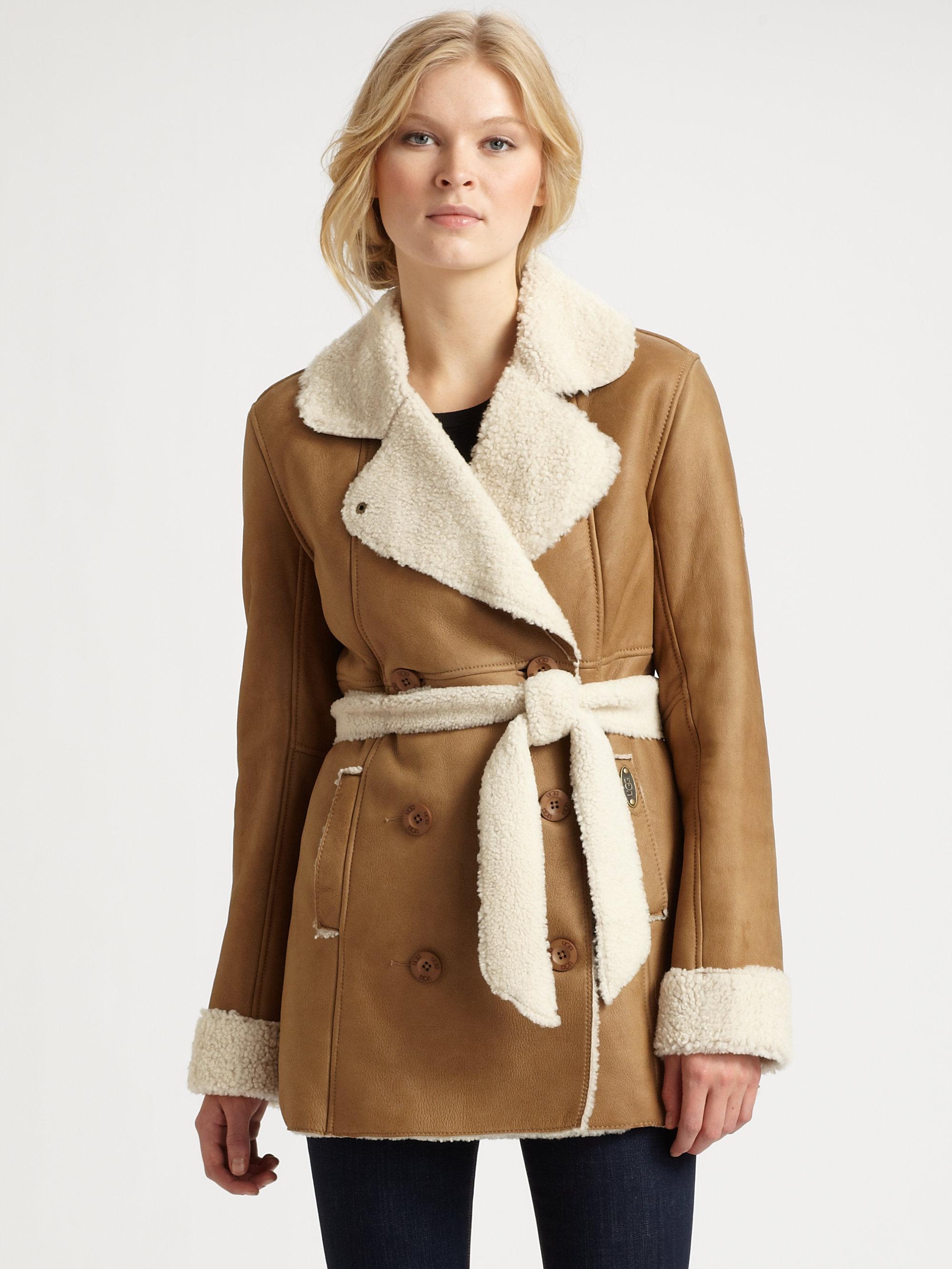 Ugg Sheepskin Coat Womens | Mindwise