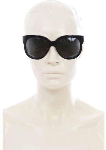 Stella McCartney Round Plastic Sunglasses - Lyst