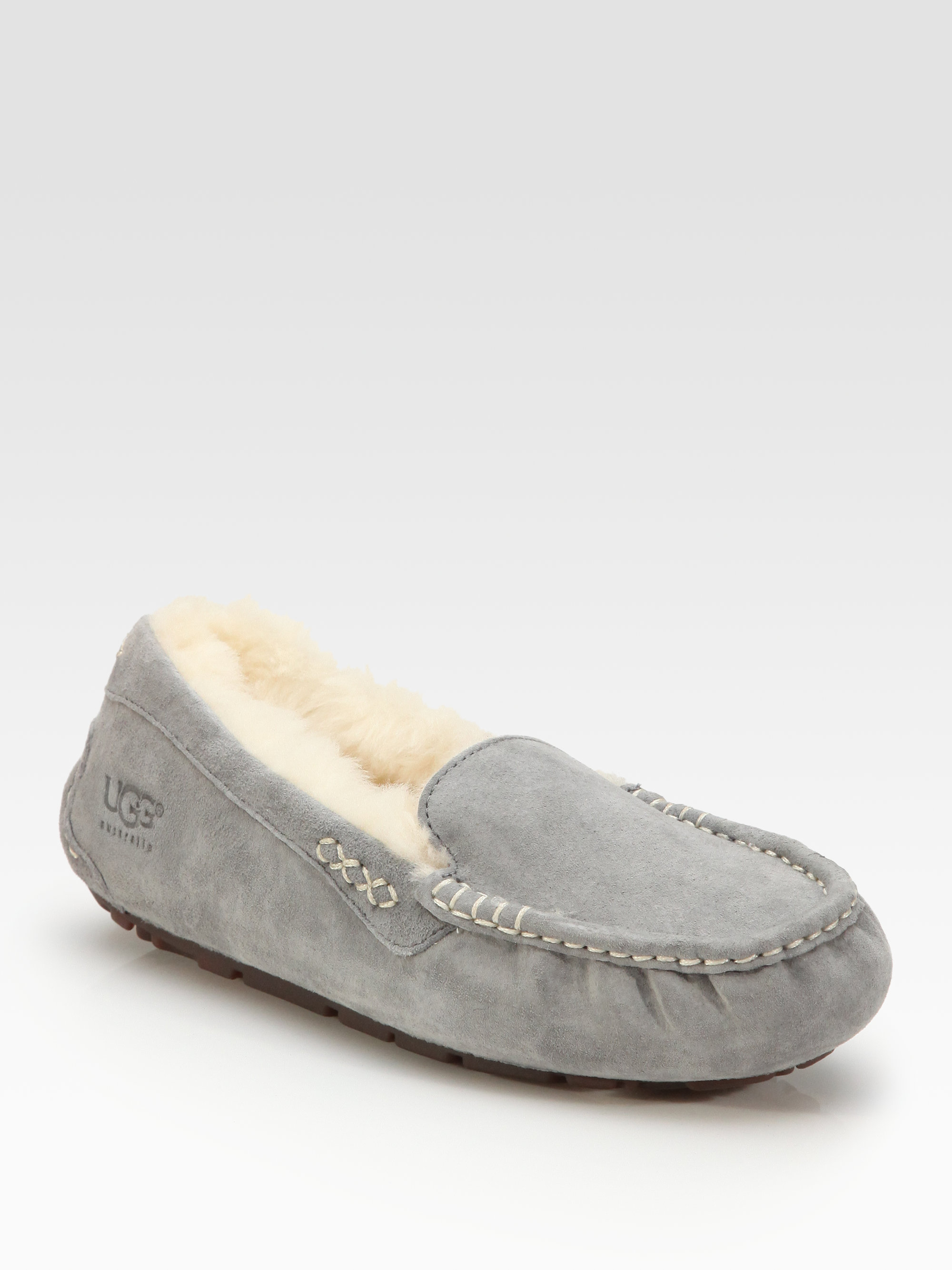 ugg slippers gray