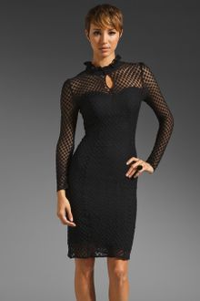 Alice By Temperley Davis Long Sleeve Dress - Lyst