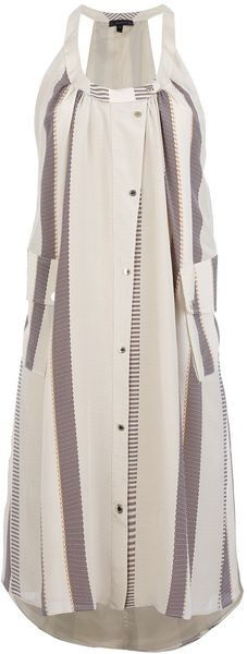 Belstaff Striped Dress - Lyst