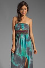 Gypsy Junkies Talulah Maxi Dress in Teal - Lyst