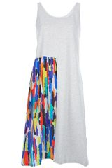 Labour Of Love Asymmetric Tank Dress - Lyst