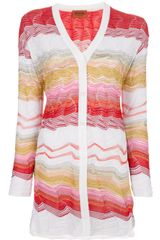 Missoni Crochet Knit Cardigan - Lyst