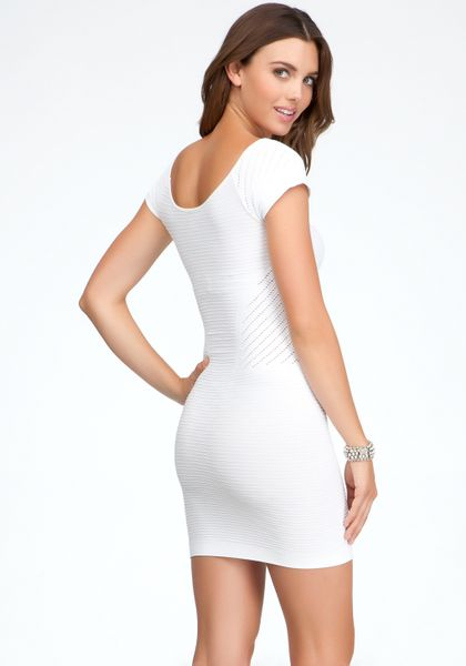 f3f68a55900 WHITE BODYCON DRESS - Gunda Daras
