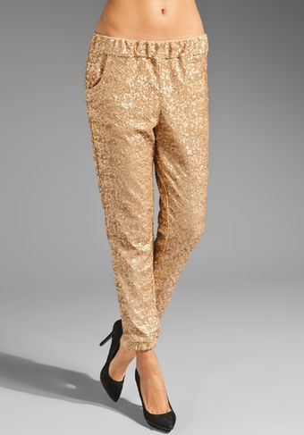 Free People Sequin Party Pants - Lyst