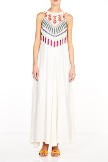 Mara Hoffman Medicine Wheel Embroidered Maxi Dress - Lyst