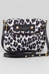 Marc By Marc Jacobs Preppy Nylon Natasha Leopard Print Mini Bag - Lyst