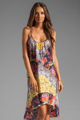 Nanette Lepore Tatsuyama Cover Dress in Multi - Lyst