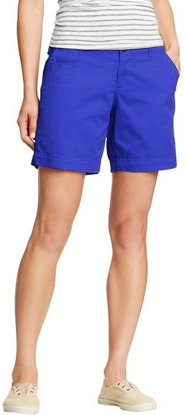 Old Navy Perfect Khaki Shorts 7 - Lyst