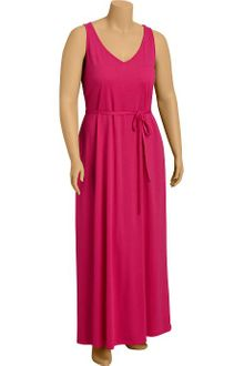 Old Navy Plus Tie Belt Maxi Tank Dress - Lyst