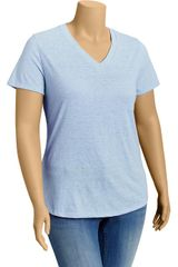 Old Navy Plus Vintage V-Neck Tee - Lyst