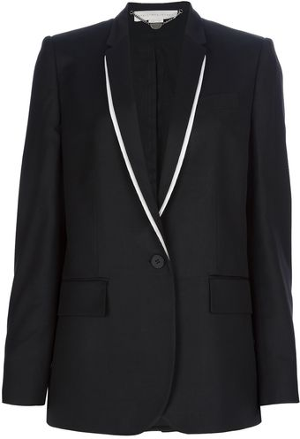 Stella McCartney Single Button Blazer - Lyst