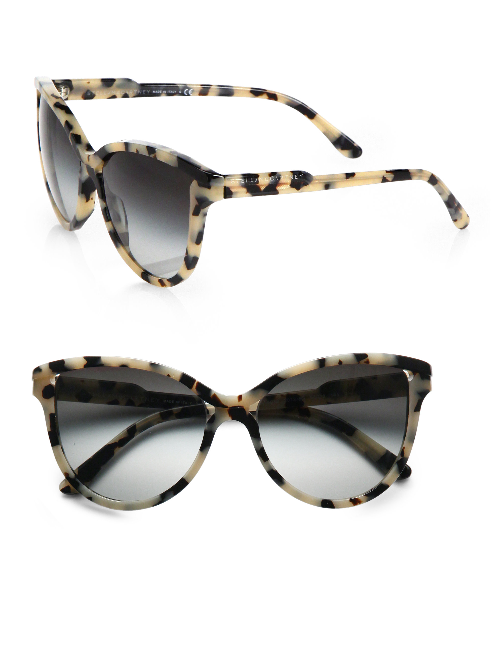Stella Mccartney Butterfly Acetate Cat S Eye Sunglasses In