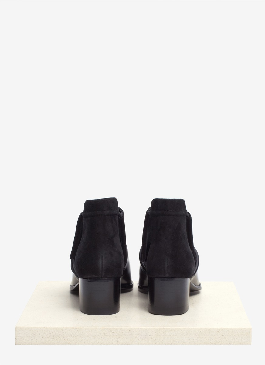 Lyst Alexander Wang Nadine Ankle Boots In Black
