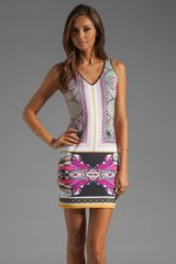 Clover Canyon Candy Cars Neoprene Dress in Multi - Lyst